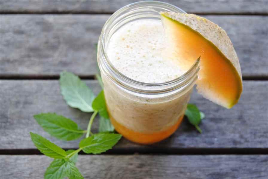 C'est le temps des melons: Jus, gaspacho ou sorbet de cantaloup et menthe