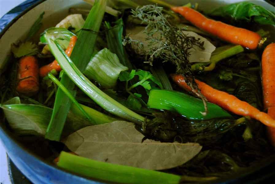 Compost et bouillon de déchets organiques