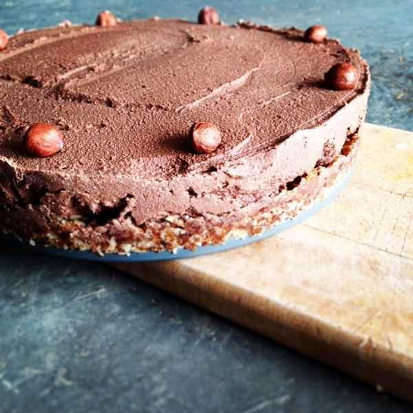 Gâteau dense… et léger aux cerises et chocolat noir!