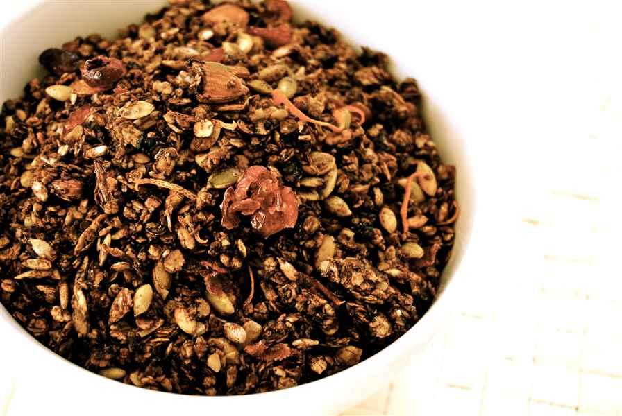 Granola à la mélasse équitable