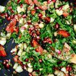 Pratique garniture: salade chana chaat