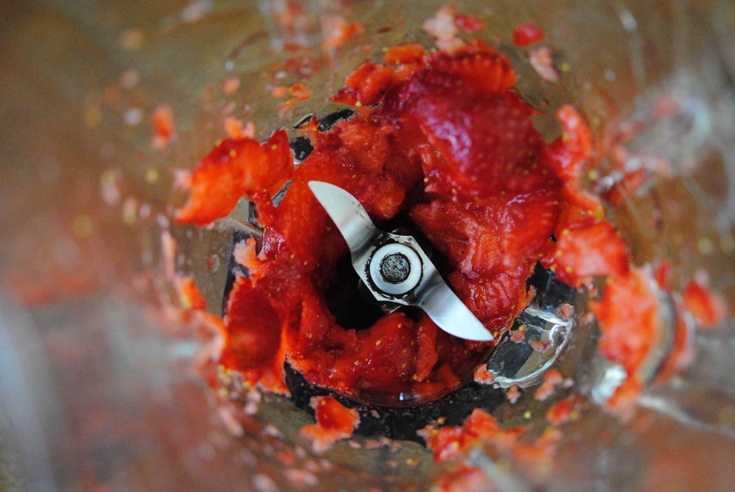 Salade de tatsoi et betteraves vinaigrette à la fraise