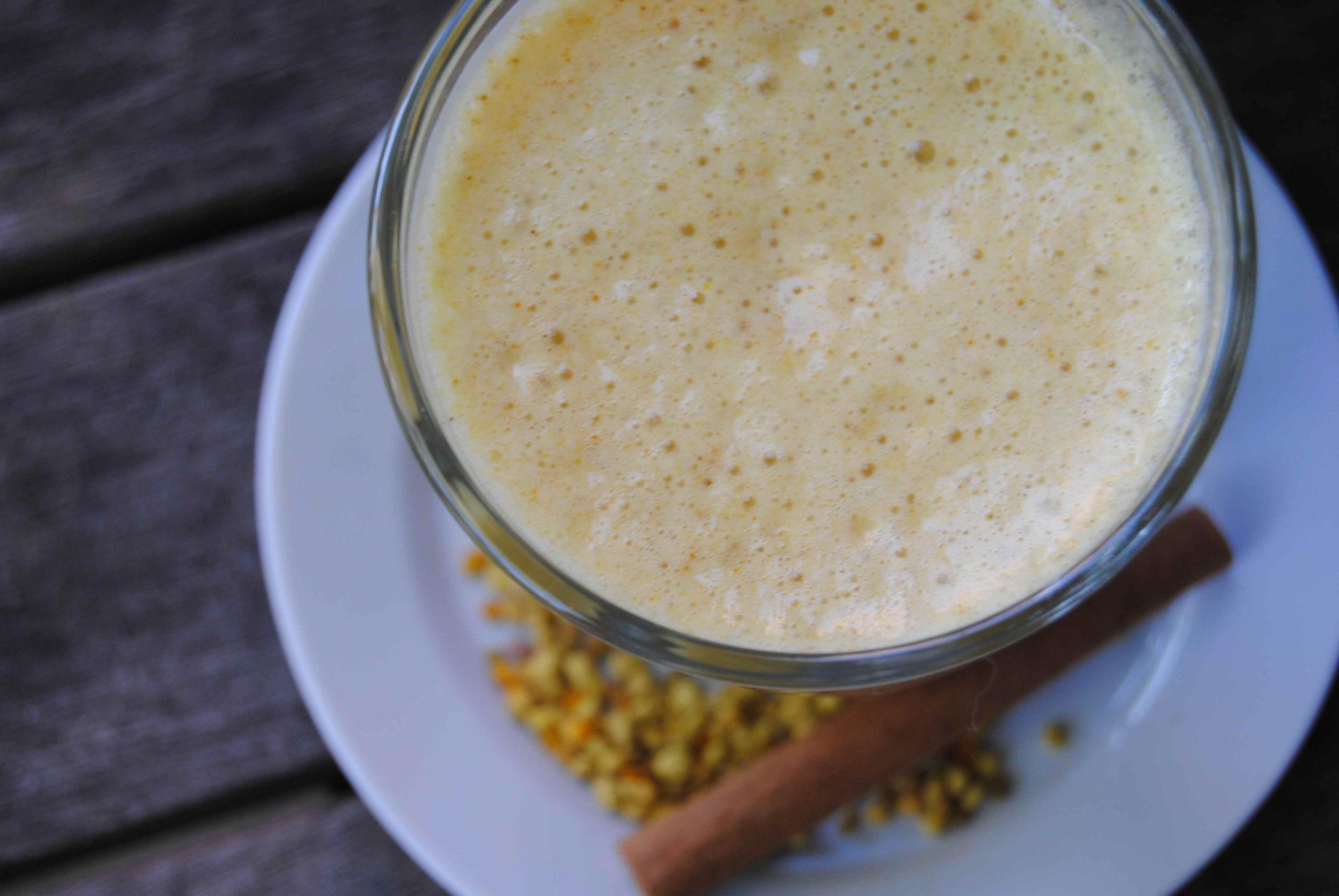 Élixir banane, épices, miel et pollen