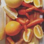 Jus de carotte agrume curcuma