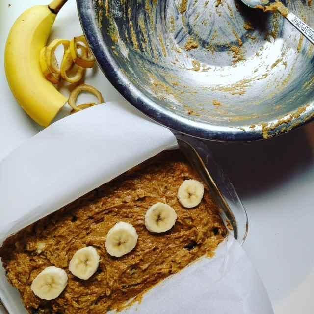 Pain banane, chocolat, curcuma, cannelle et cardamome